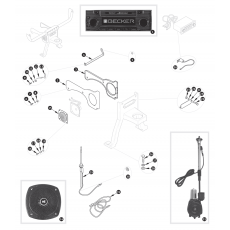 Aerial, radio and installation details