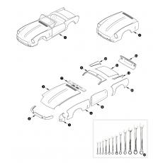 Bodyshell, wings, doors and bonnet - MK3