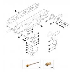Inlet manifold - XK120