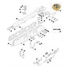 Inlet manifold - XK150