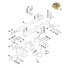 Inlet manifold - XK150S
