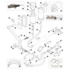 Brake hydraulics - XK150