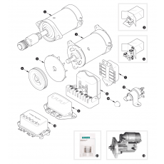 Dynamo and starter motor