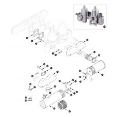 SU-HD6 carburettor and air filter - XK150