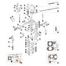 SU-HD8 internal carburettor - XK150S
