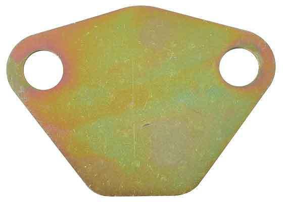 Blanking plate