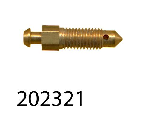 Sprite / Midget Bleed screw