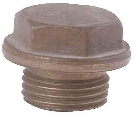 Brass plug