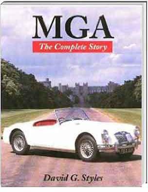MG MGA The Complete Story