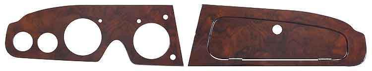 Austin Healey Wood dashboard