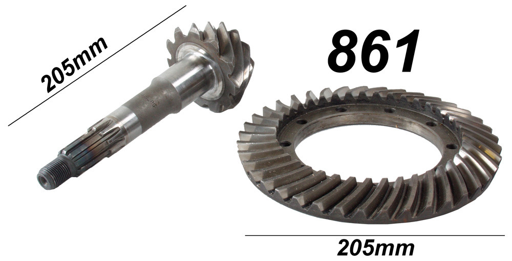 Triumph Crown wheel and pinion