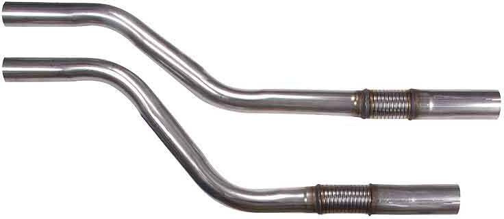 Jaguar Adaptor pipes