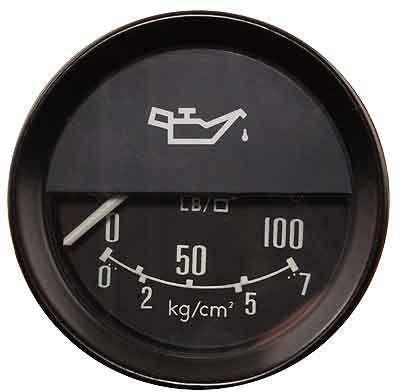 Jaguar Oil pressure gauge