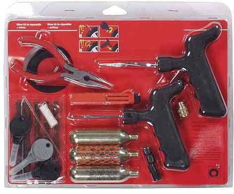 Emergency tyre repair kit