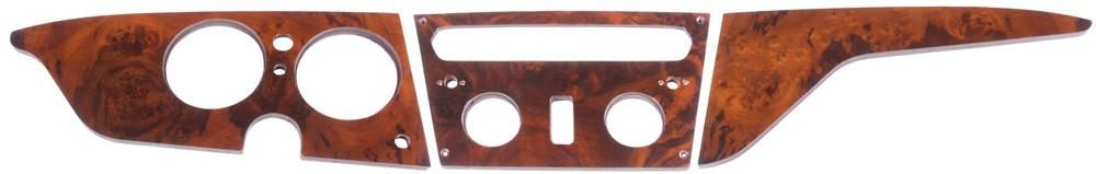 Triumph Wood dashboard