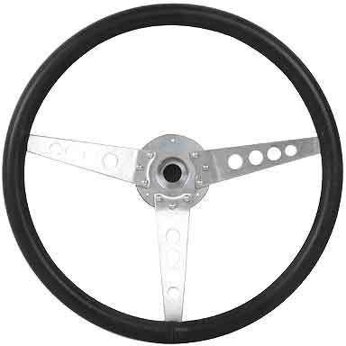 Jaguar Leather rim steering wheel