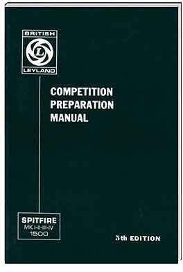 Triumph Owners Handbook: Spitfire