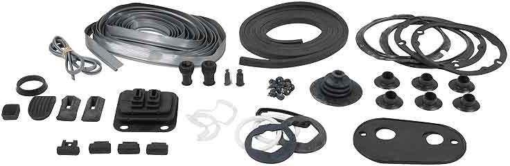 MG Body rubber set