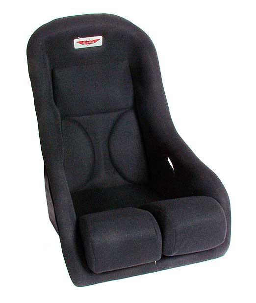 Racing bucket seat