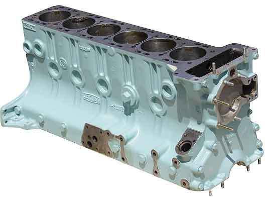 Jaguar Cylinder block