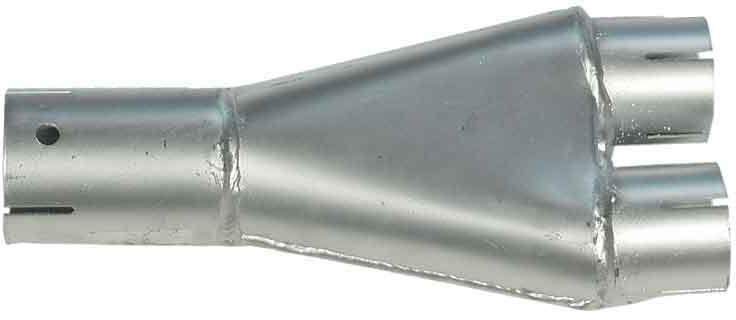 Triumph 'Y' exhaust pipe