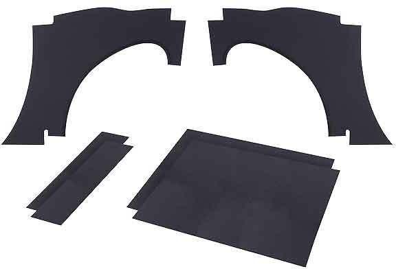 Rear wheel arch panels