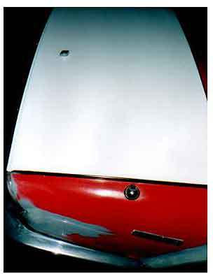 Triumph Boot lid
