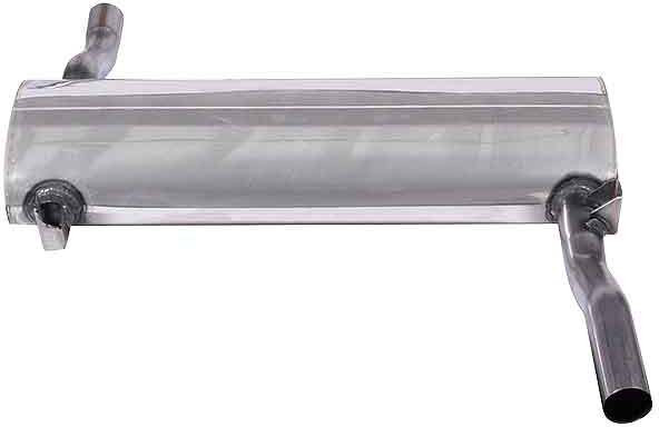 Triumph Rear silencer