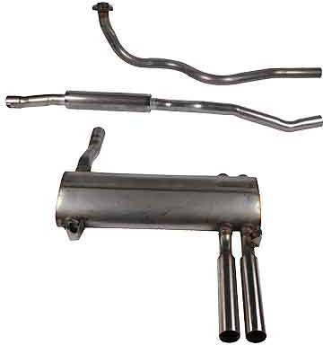 Triumph Exhaust system