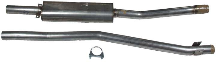 MG Exhaust system