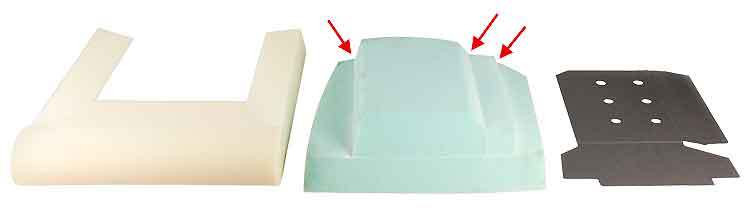 Triumph Seat foam