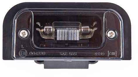 Jaguar Number plate lamp