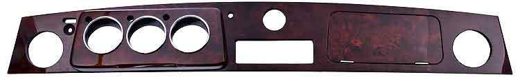 Mini Wood dashboard