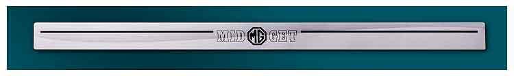 Sprite / Midget Threshold plate