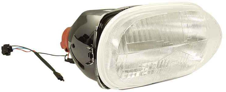 H4 Halogen headlamp