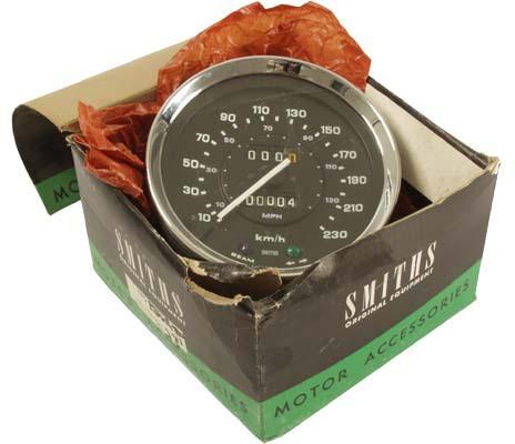 Triumph Speedometer