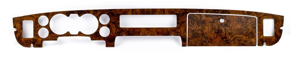 Jaguar Wood dashboard