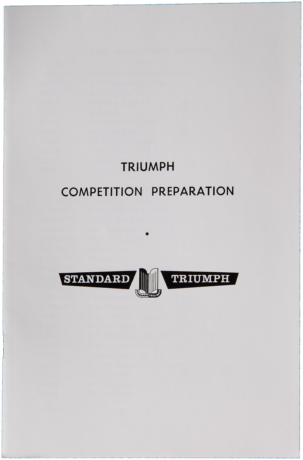 Competition Preparation Manual