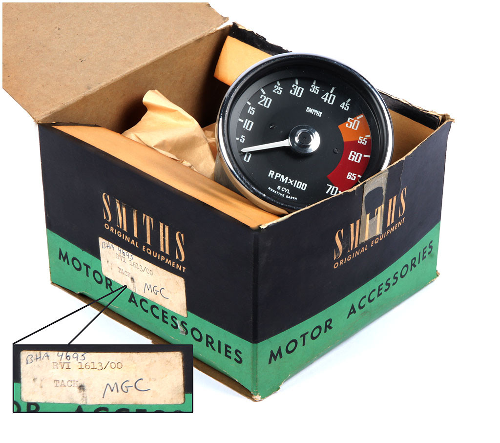 MG Tachometer