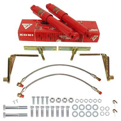 MG Shock absorber conversion