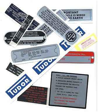MG Sticker set