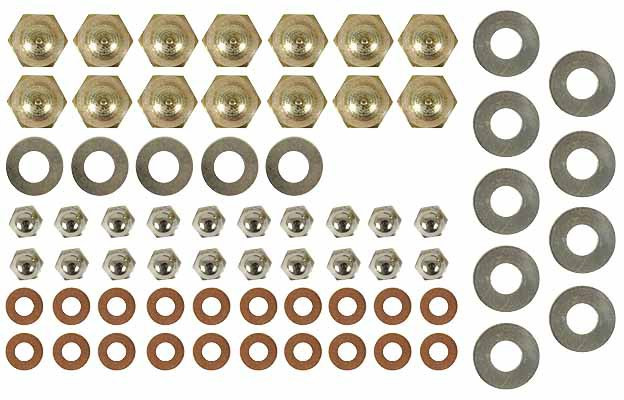 Jaguar Dome nut and washer kit