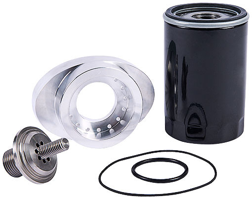 Jaguar Oil filter adaptor