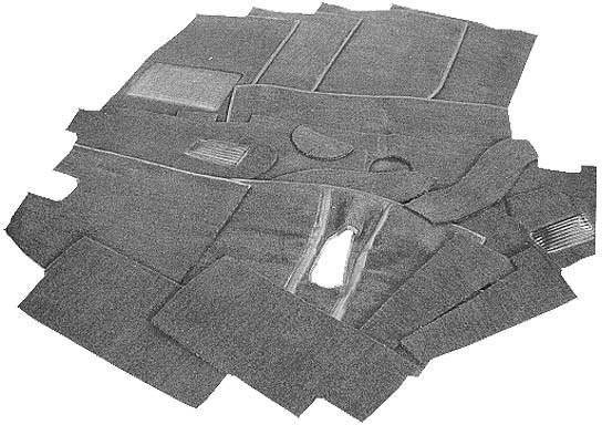 Sprite / Midget Carpet set