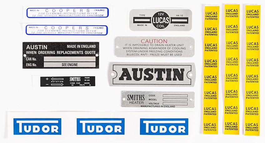 Sprite / Midget Sticker set