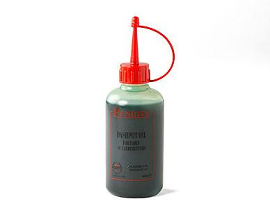Dashpot oil