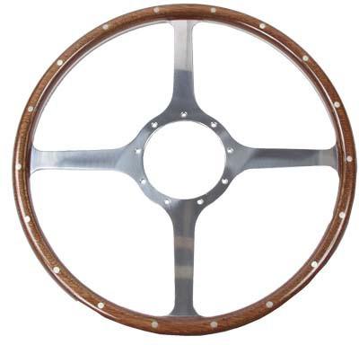 Jaguar Woodrim steering wheel