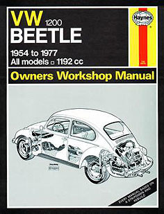 VW Beetle 1200 (54 - 77) up to S
