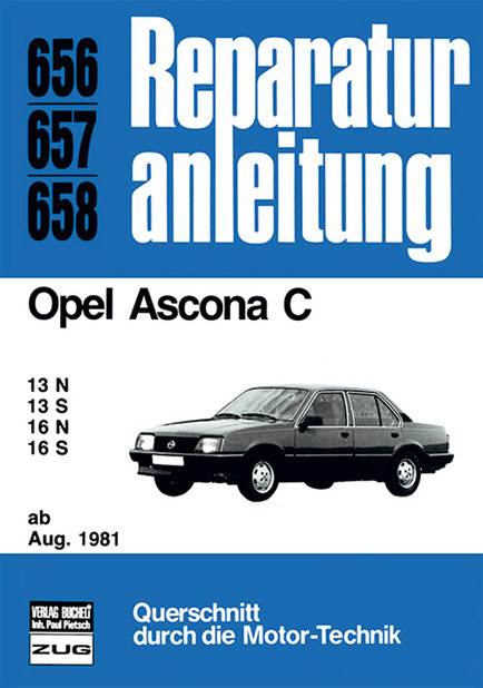 Opel Ascona C ab August 1981