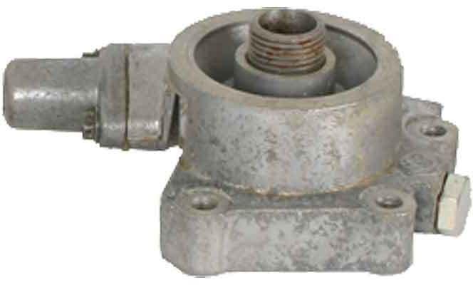 Oil filter head